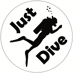 Logo Just Dive Diving School